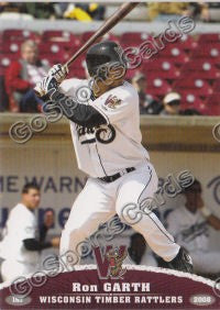 2008 Wisconsin Timber Rattlers Ron Garth