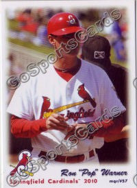 2010 Springfield Cardinals Ron Pop Warner