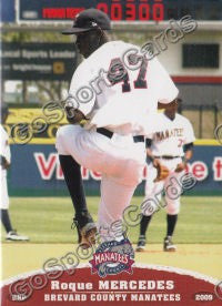 2009 Brevard County Manatees Roque Mercedes