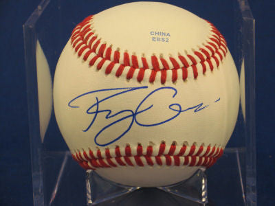 Rudy Owens signed Baseball Auto