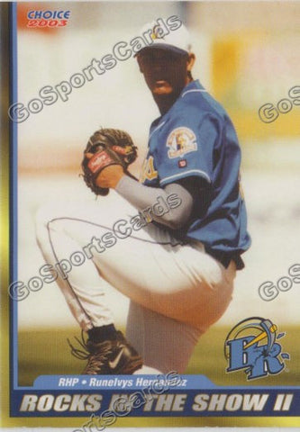2003 Wilmington Blue Rocks Runelvys Hernandez