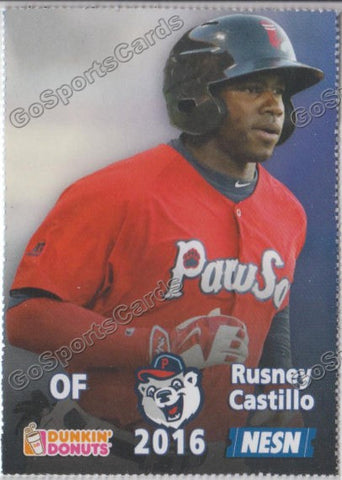 2016 Pawtucket Red Sox SGA Dunkin Donuts Rusney Castillo