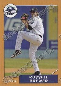 2012 Asheville Tourists Russell Brewer