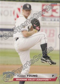 2008 Mahoning Valley Scrappers Russell Young
