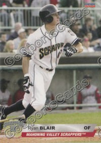 2008 Mahoning Valley Scrappers Ryan Blair