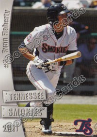 2011 Tennessee Smokies Ryan Flaherty