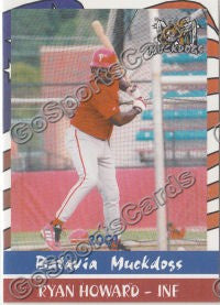 2004 Batavia Muckdogs Team Set (Ryan Howard, Chase Utley)