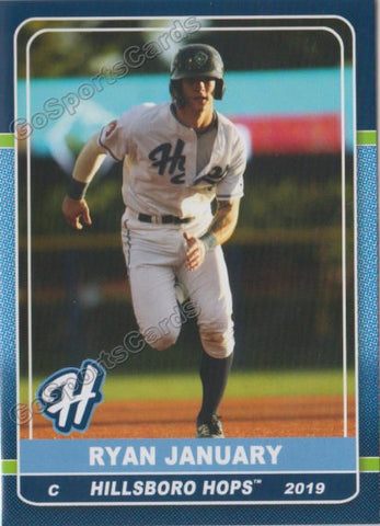 2019 Hillsboro Hops Ryan January