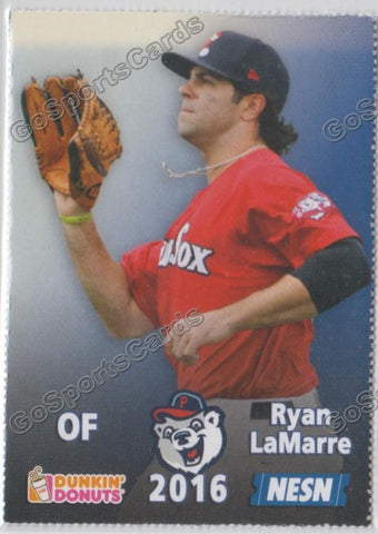 2016 Pawtucket Red Sox SGA Dunkin Donuts Ryan LaMarre