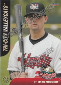 2011 Tri City Valley Cats Ryan McCurdy