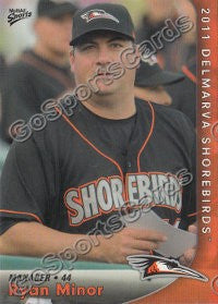 2011 Delmarva Shorebirds Ryan Minor