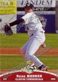 2009 Clinton LumberKings Ryan Moorer