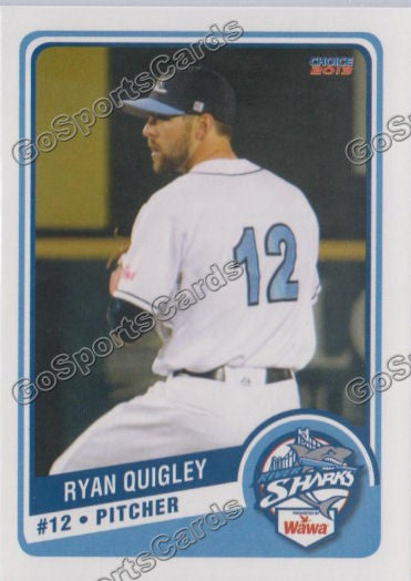 2013 Camden RiverSharks Ryan Quigley