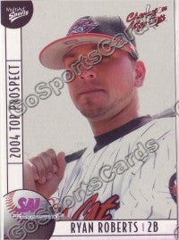 2004 South Atlantic League SAL Top Ryan Roberts