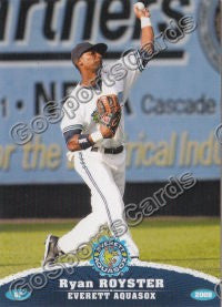2009 Everett AquaSox Ryan Royster