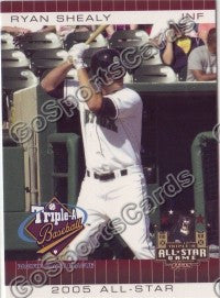 2005 Pacific Coast League All-Star Game Multi-Ad Ryan Shealy