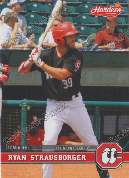 2017 Chattanooga Lookouts Ryan Strausborger