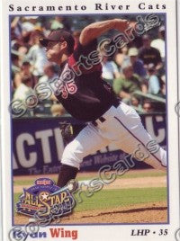 2008 Pacific Coast League All Star Ryan Wing