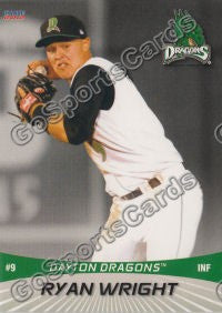 2012 Dayton Dragons Ryan Wright