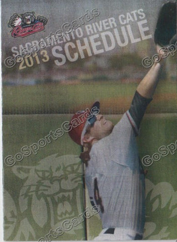 2013 Sacramento River Cats Pocket Schedule