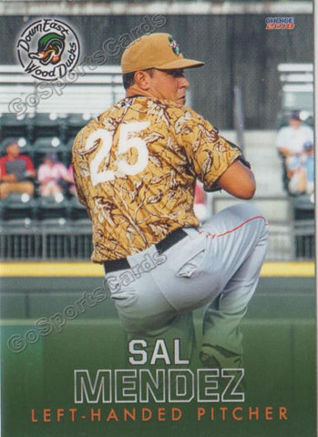 2018 Down East Wood Ducks Sal Mendez