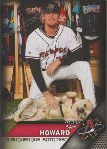2019 Albuquerque Isotopes Sam Howard