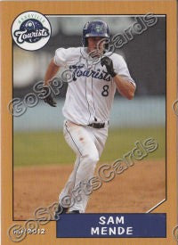 2012 Asheville Tourists Sam Mende