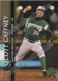 2009 Dayton Dragons Scott Gaffney