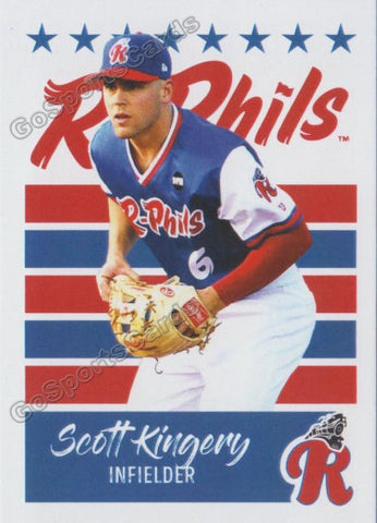 2019 Reading Fightin Phils U3 Scott Kingery