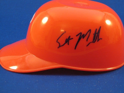 Scott Mathieson Philadelphia Phillies Mini Helmet Autograph