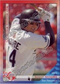 2003 Midwest League Top Prospects Scott Moore