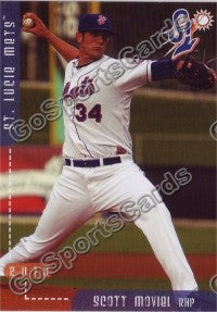 2010 St Lucie Mets Scott Moviel