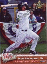 2009 MidWest League All Star Western Division Scott Savastano
