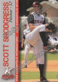 2012 Kannapolis Intimidators Team Set