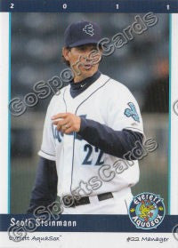 2011 Everett AquaSox Scott Steinmann