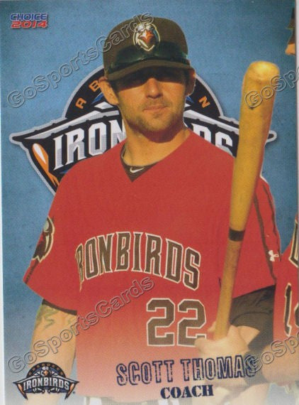 2014 Aberdeen Ironbirds Scott Thomas