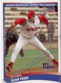 2005 Scranton Red Barons Sean Fesh