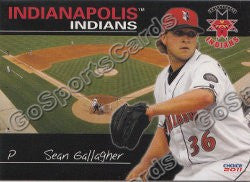2011 Indianapolis Indians Sean Gallagher