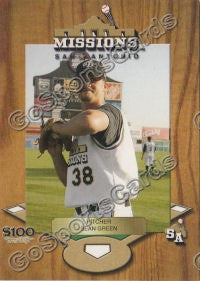 2005 San Antonio Missions Sean Green