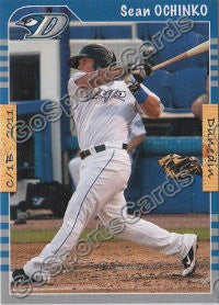 2011 Dunedin Blue Jays Sean Ochinko
