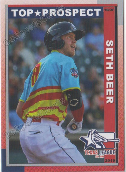 2019 Texas League Top Prospects Seth Beer