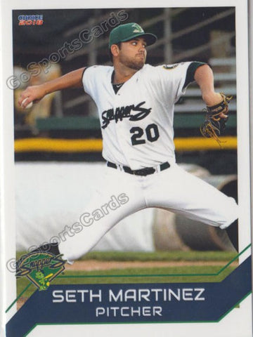 2018 Beloit Snappers Seth Martinez
