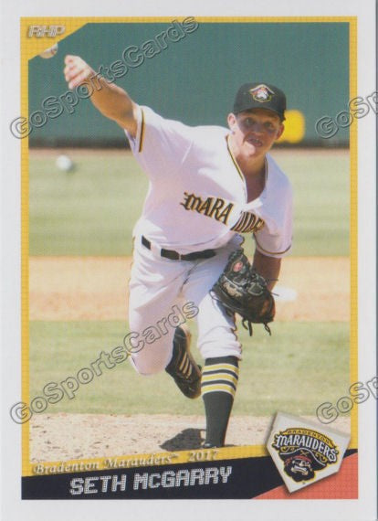2017 Bradenton Marauders Seth McGarry