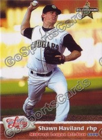 2009 MidWest League All Star Western Division Shawn Haviland