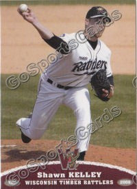 2008 Wisconsin Timber Rattlers Shawn Kelley