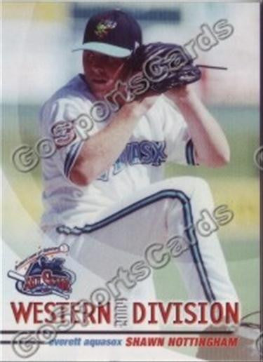 2004 GrandStand Northwest League All Star Shawn Nottingham