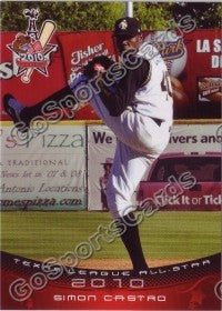 2010 Texas League All Star Simon Castro