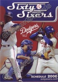 2008 Sixty Sixers Pocket Schedule