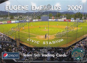 2009 Eugene Emeralds Civic Stadium