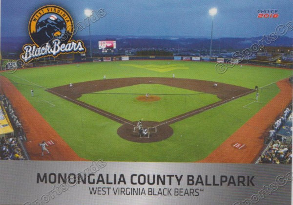 2018 West Virginia Black Bears Monongalia County Ballpark